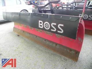 BOSS 8' Super-Duty XT Plow w/ Controller