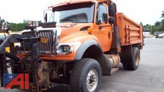 2005 International 7600 Dump Truck & Plow
