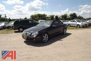 2005 Mercedes Benz CLK 320 Convertable