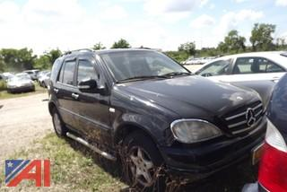 2000 Mercedes Benz ML320 SUV