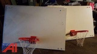 (4) Basketball Backboards