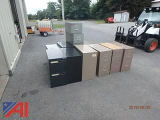 (12) 2 Drawer Filing Cabinets