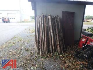 Approximately (50) 6' Cedar Fence Posts