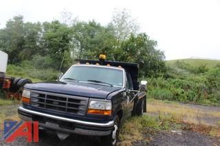 1995 Ford F350 Pickup Truck with Dump Body