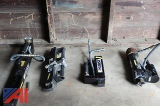 (4) Hurst Hydraulic Ram Tools