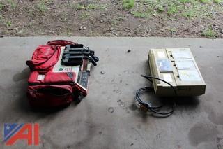 Lifepak 10 Defibrillator & Charger