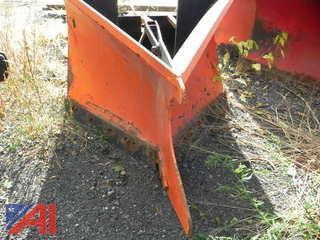 V Plow for Skidsteer or Holder Sidewalk Machine
