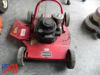 Roof Push Lawn Mower, Model #822141