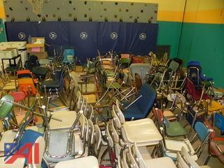 (120+) Student  Chairs