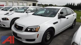 2013 Chevrolet Caprice 4 Door Police Interceptor