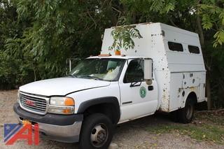 2001 GMC 3500 Utility Truck