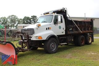 **Mileage Added** 2003 Sterling LT9500 Dump Truck with Plow