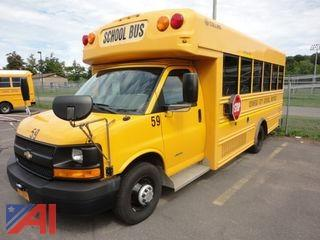 2011 Collins Express 4500 Mini School Bus with Wheel Chair Lift