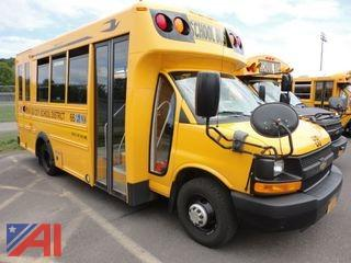 2012 Micro Chevrolet Express 4500 Mini School Bus with Wheel Chair Lift