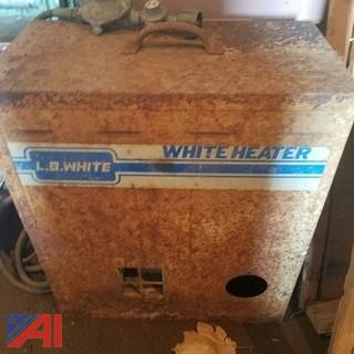 L.B. White Propane Heater
