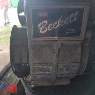 (2) Beckett Oil Furnace Burners