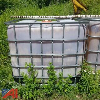 250 Gallon Plastic Tote