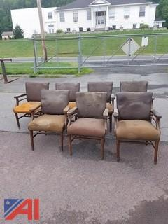 (7) Arm Chairs