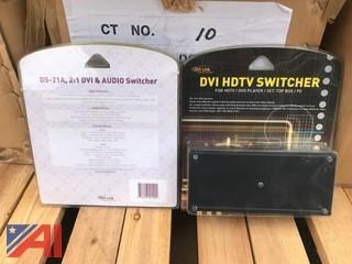 (120) Digital 2x1 Extender Switchers