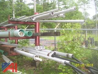 Lot of Aluminum Irrigation Pipes