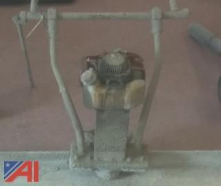 12' Power Screed with Honda Power Head