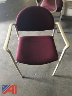 (40) Stacking Chairs