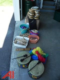 Various Pre-School Musical Instruments