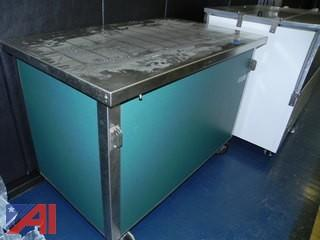Delfield SC-50-NU - Solid Top Serving Counter