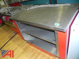Randell Stainless Steel Buffet Style Worktop Unit