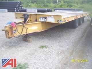 **Comes with a Clean Title** 1996 Holden HTB4029 10 Ton Tilt Deck Trailer