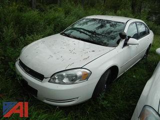 2007 Chevrolet Impala 4 Door/Police Vehicle