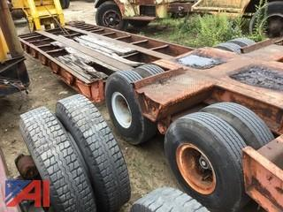 1972 Rogers 45 Ton Lowbed Trailer