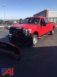 2012 Ford F350 Pickup Truck with Plow