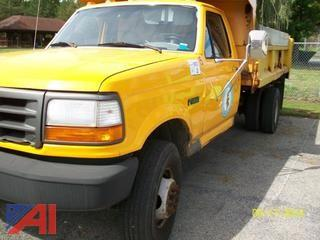 1996 Ford F450 Super Duty Pickup with Dump Body