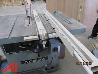 Delta Table Saw, Delta Shaper and Ridgid Lathe