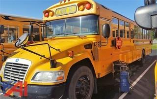 2009 Blue Bird Vision School Bus with Wheel Chair Lift