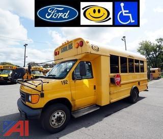 2005 Ford E450 SD Corbiel Wheelchair School Bus/192