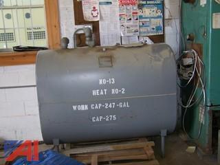 275 Gallon Fuel Tank
