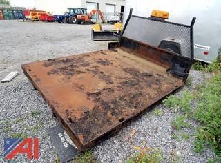 8'W x 9'L Steel Flatbed Deck