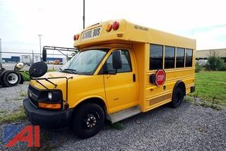 2009 Chevy Collins Express Mini School Bus