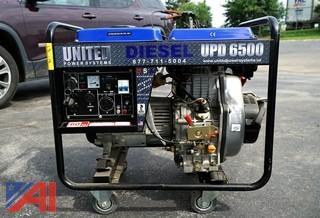 United UPD 6500 Portable Diesel Generator