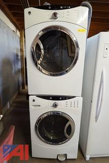 2 Piece GE Residential Front Load Washer & Dryer