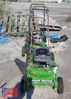 (2) John Deere Walk Behind Lawn Mowers