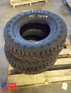 (2) Goodyear Wrangler Duratrac Tires