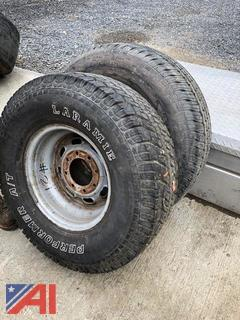 (2) Truck Tires