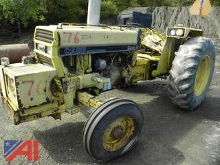 Case International 885 Tractor with Canopy
