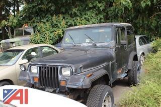 1987 AMC Wrangler Jeep