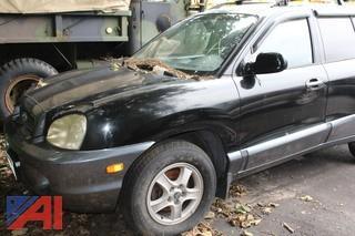 2002 Hyundai Santa Fe SUV