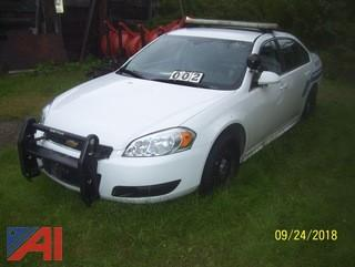 2013 Chevy Impala 4DSD/Police Vehicle
