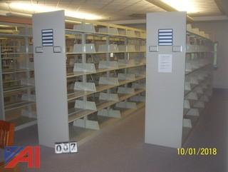 Book Shelves Assembled